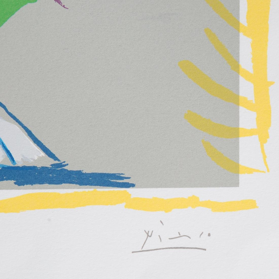 "Pablo Picasso. ""Dessins,"" lithograph - 4"