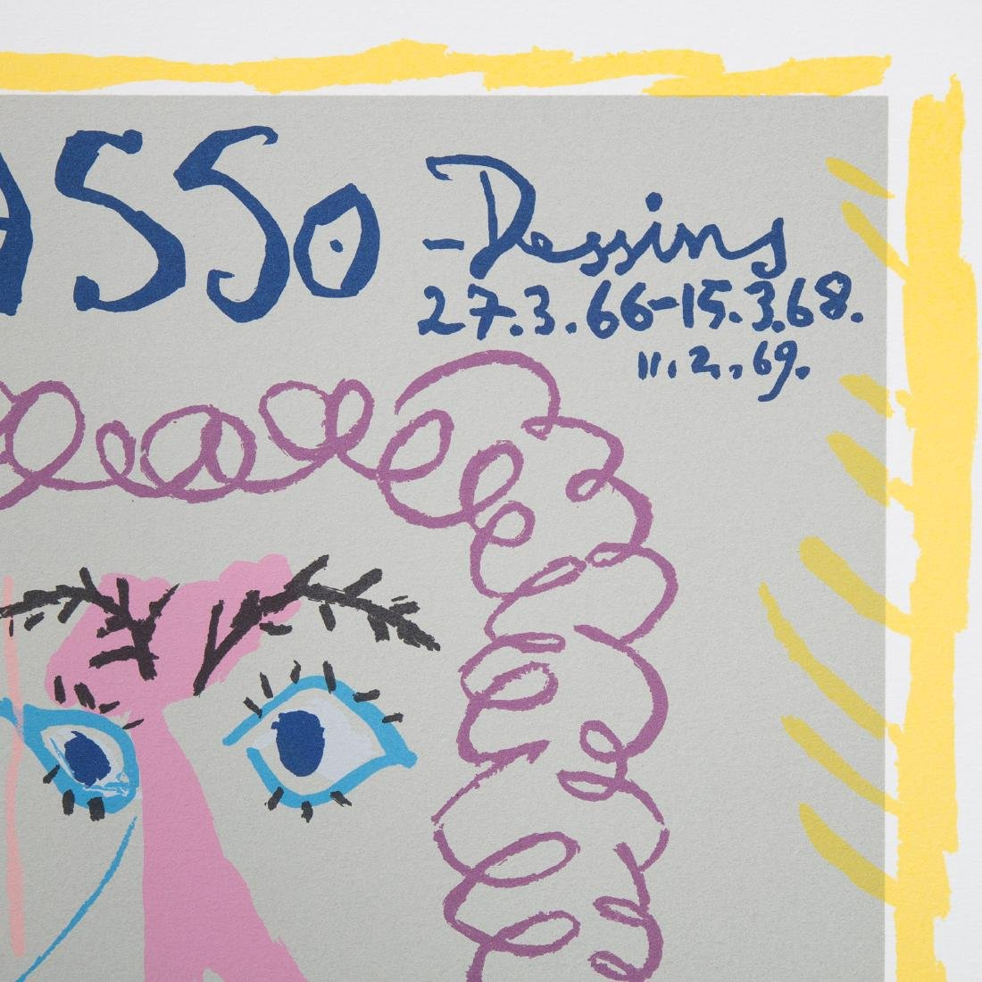"Pablo Picasso. ""Dessins,"" lithograph - 6"