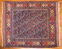 Antique Afshar rug approx 43 x 51