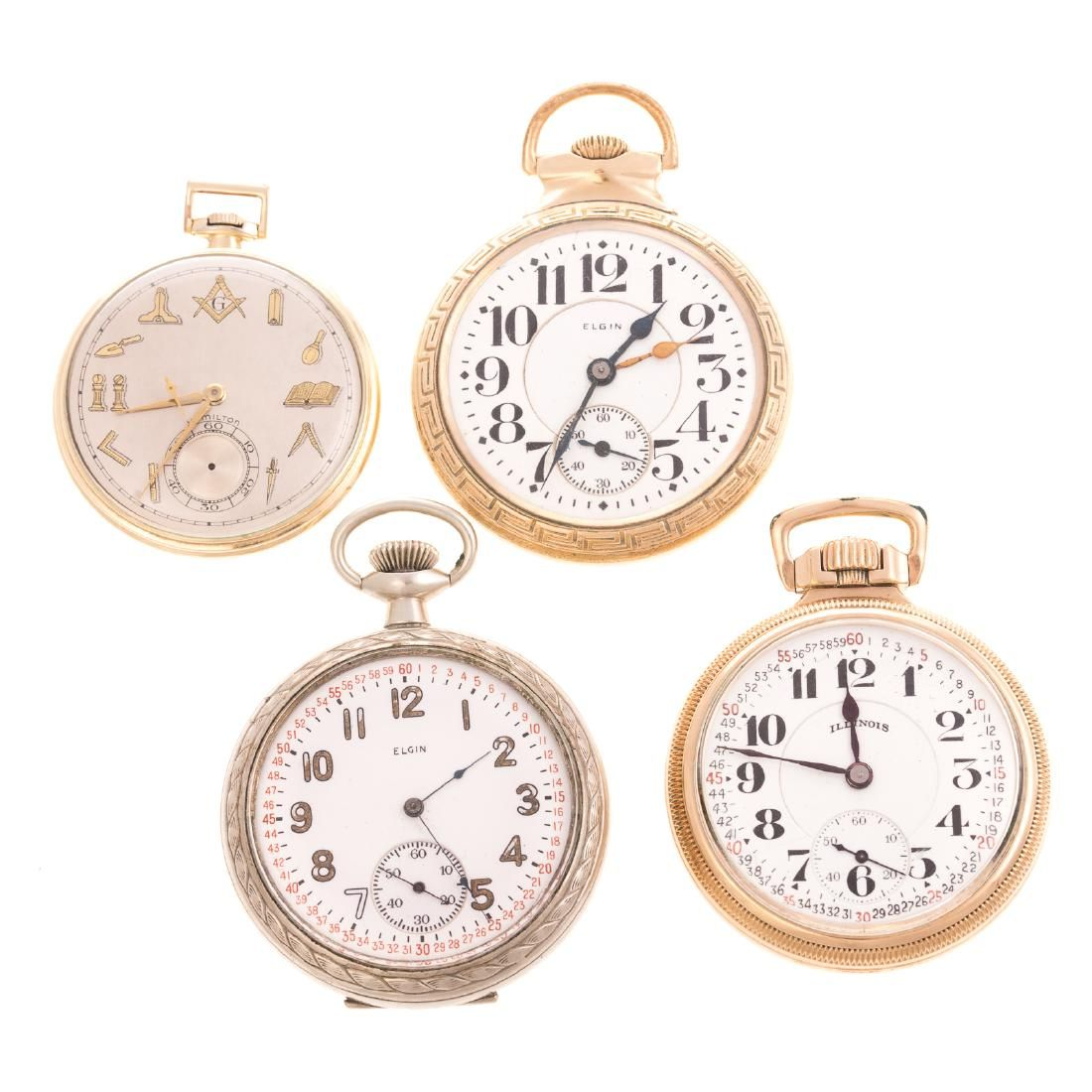 A Collection of Gentlemen's Pocket Watches