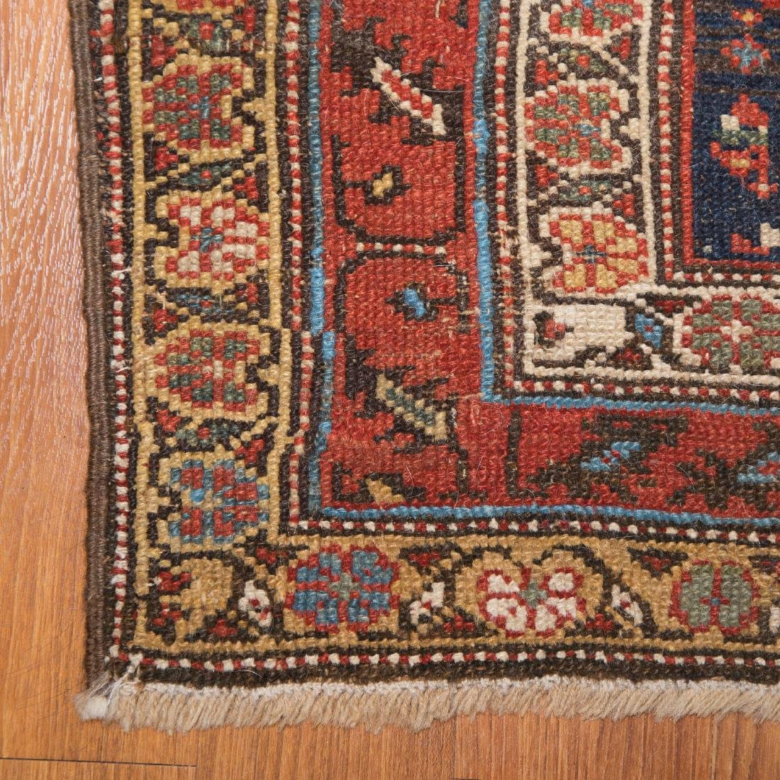 Three antique scatter rugs - 2
