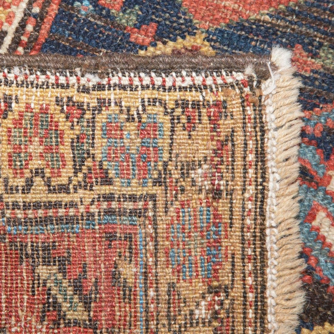 Three antique scatter rugs - 3