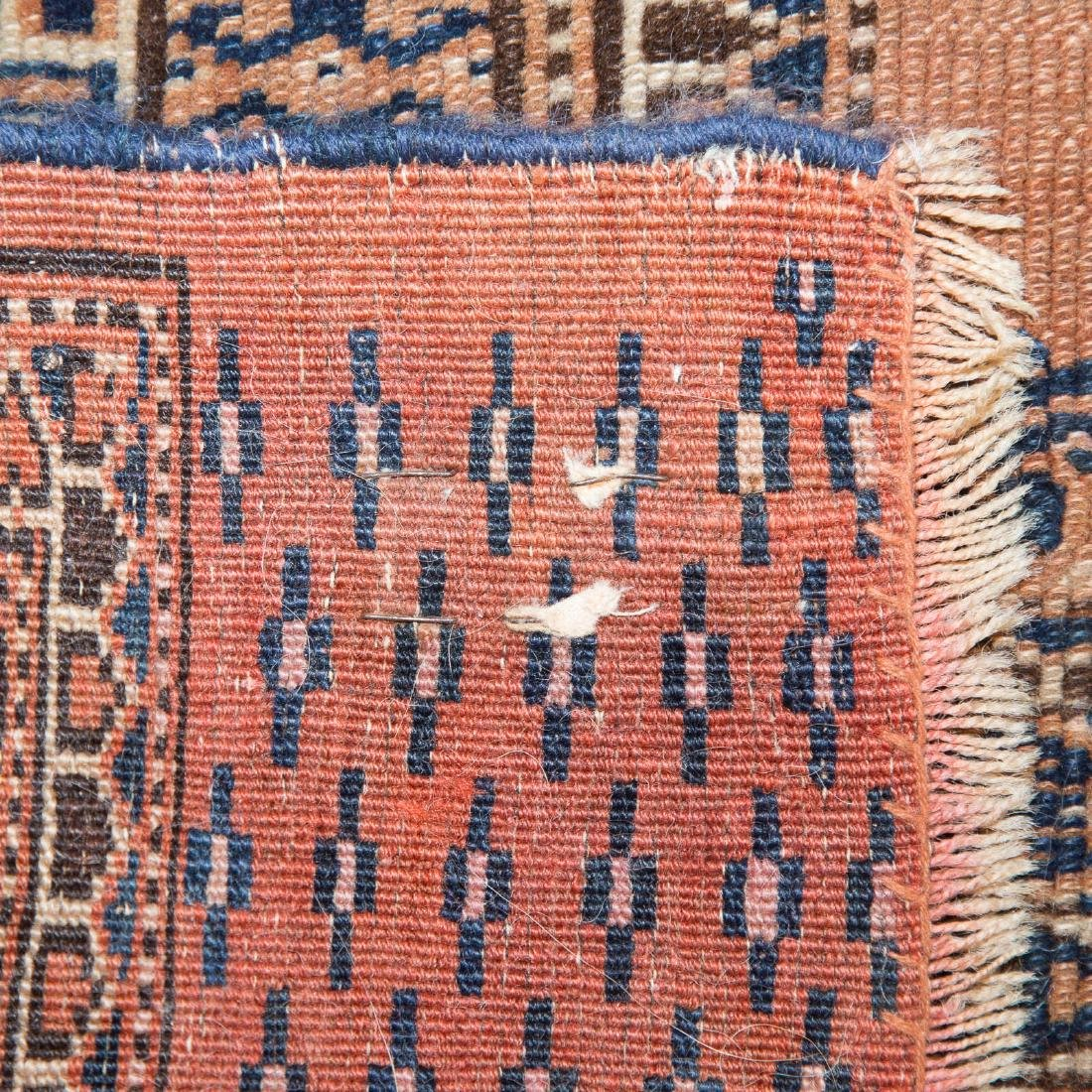 Three antique scatter rugs - 5