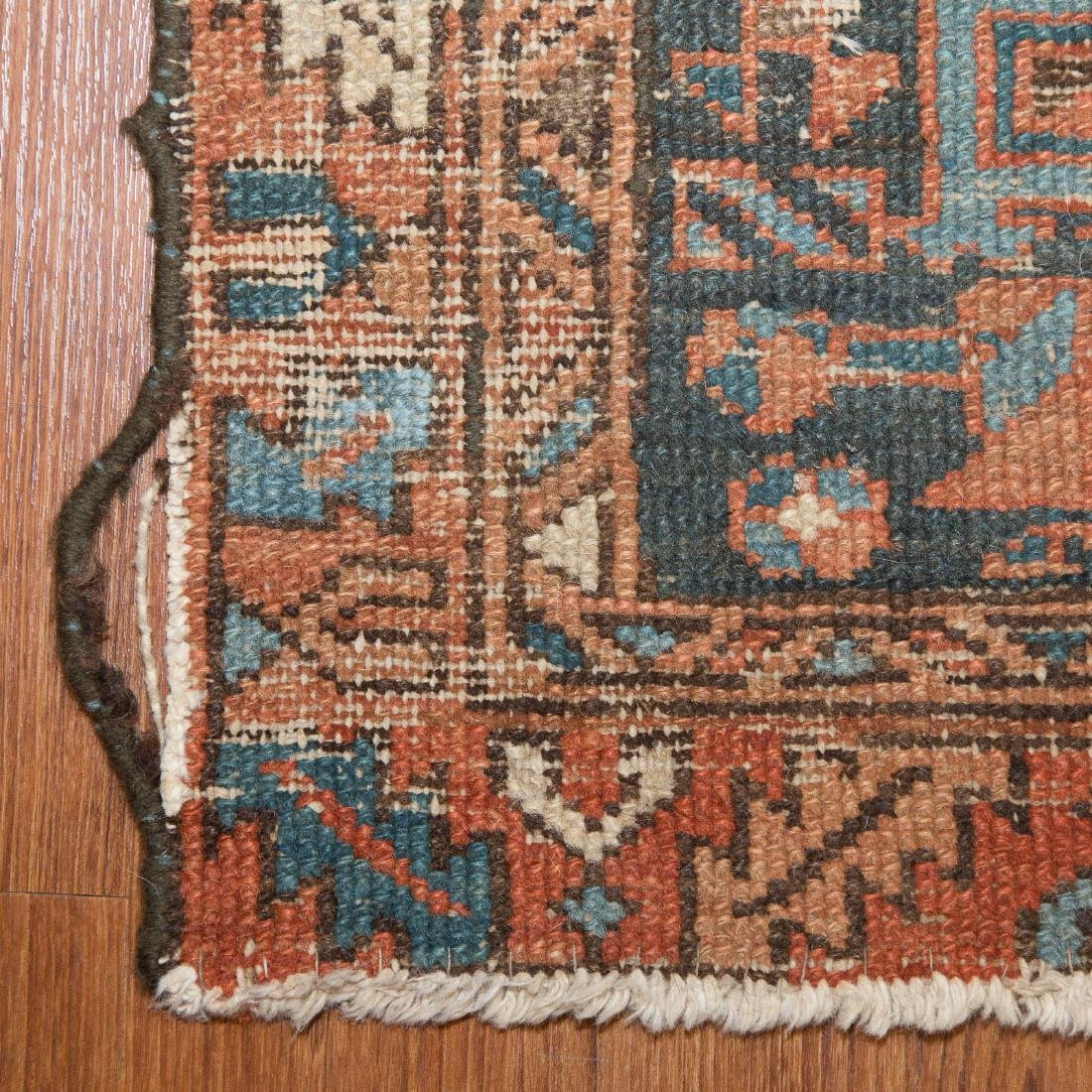 Three antique scatter rugs - 6