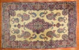 Antique Lavar Kerman carpet, approx. 10.2 x 16.4