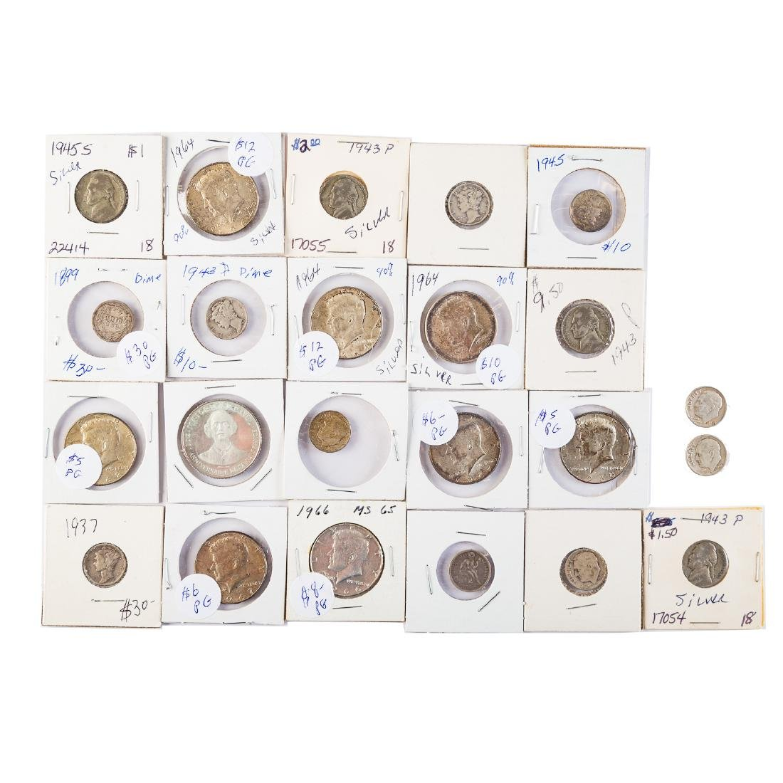 Silver coins and collectibles - 2