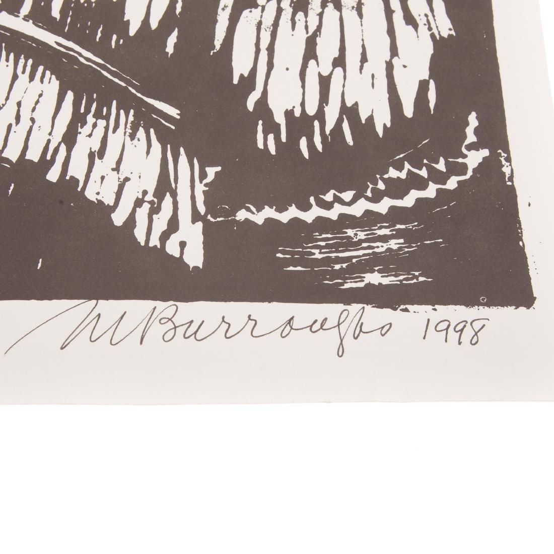 """Margaret Burroughs. """"Little Girl,"""" linocut - 3"""
