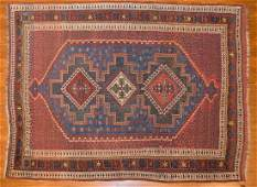 Antique Afshar rug approx 42 x 56