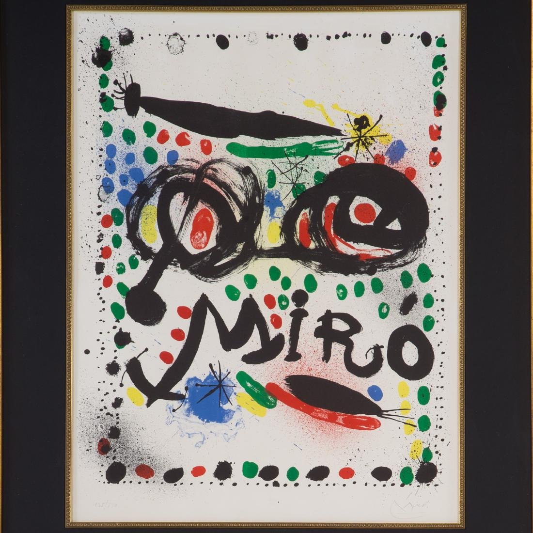 "Joan Miro. ""Joan Miro Graphics,"" color lithograph - 2"