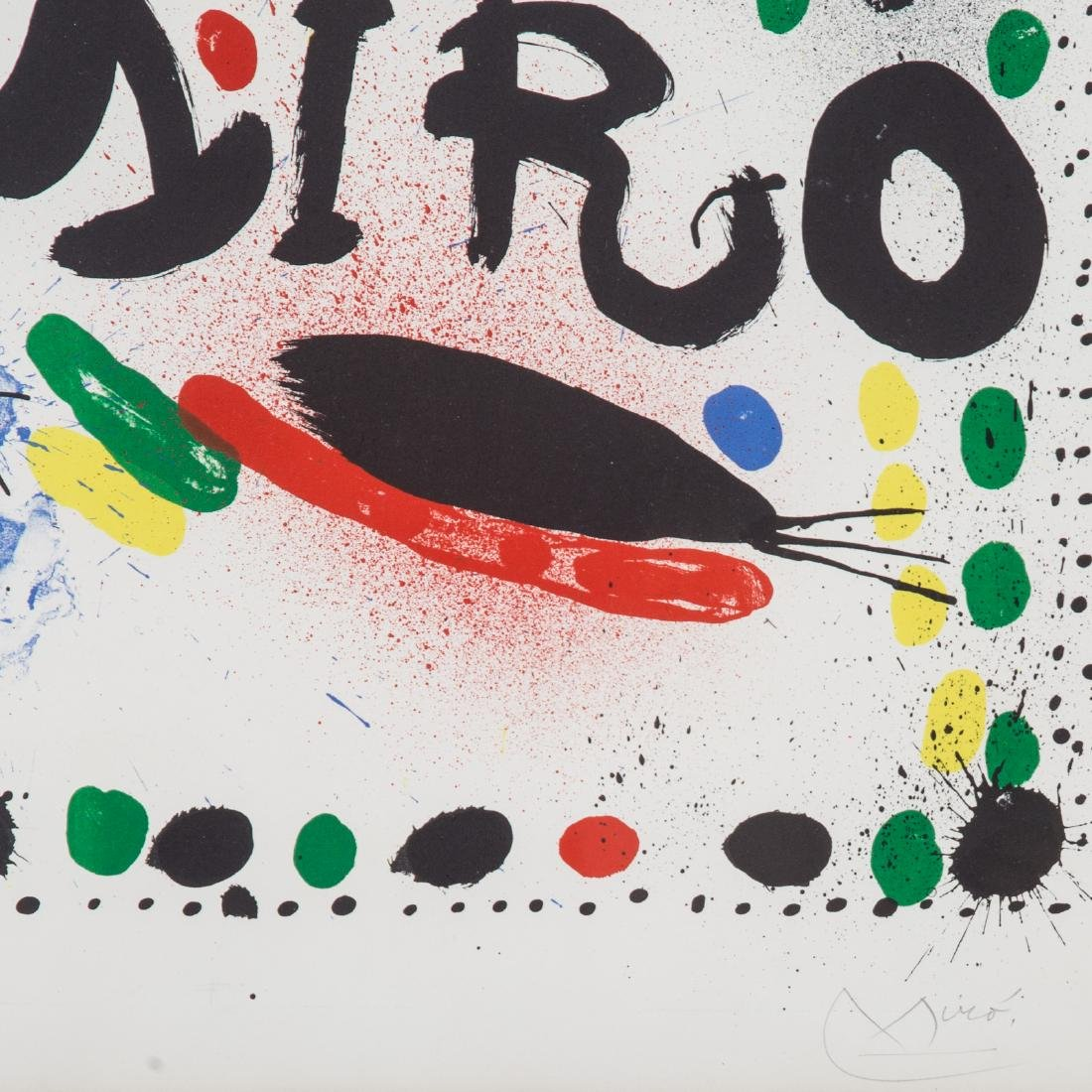 "Joan Miro. ""Joan Miro Graphics,"" color lithograph - 3"