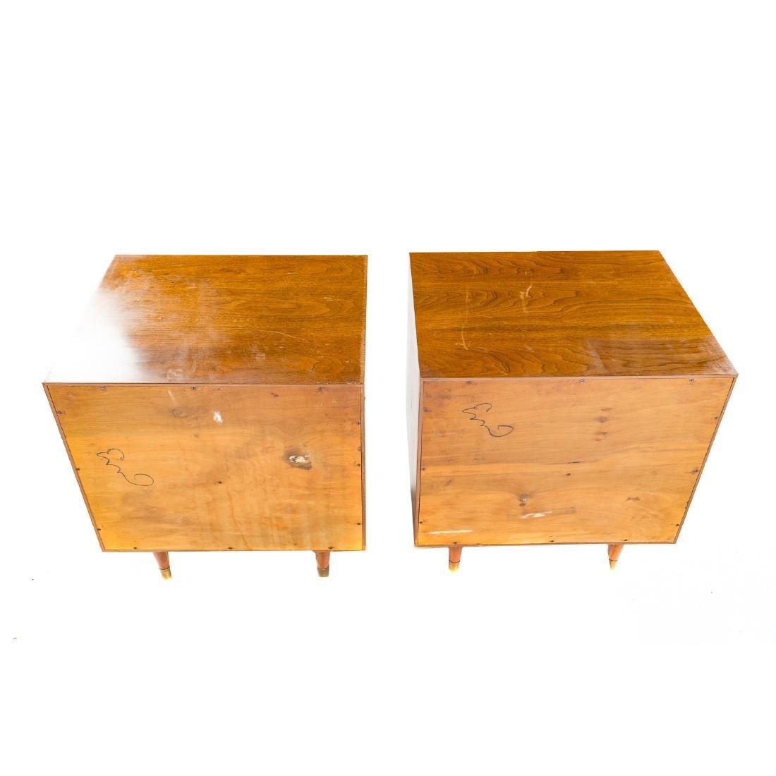 Pair of Furnette Walnut Nightstands - 6