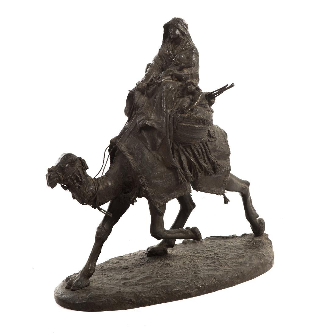 Ernesto Biondi. Woman and Children, Bronze - 2
