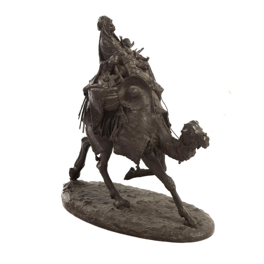 Ernesto Biondi. Woman and Children, Bronze - 3