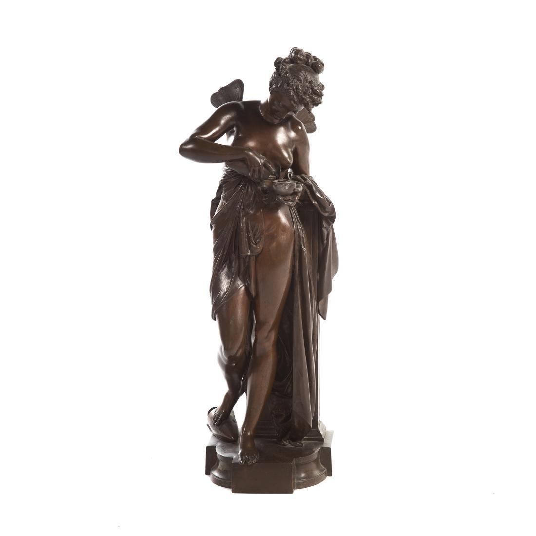 """Carrier-Belleuse. """"Psyche,"""" Bronze"""