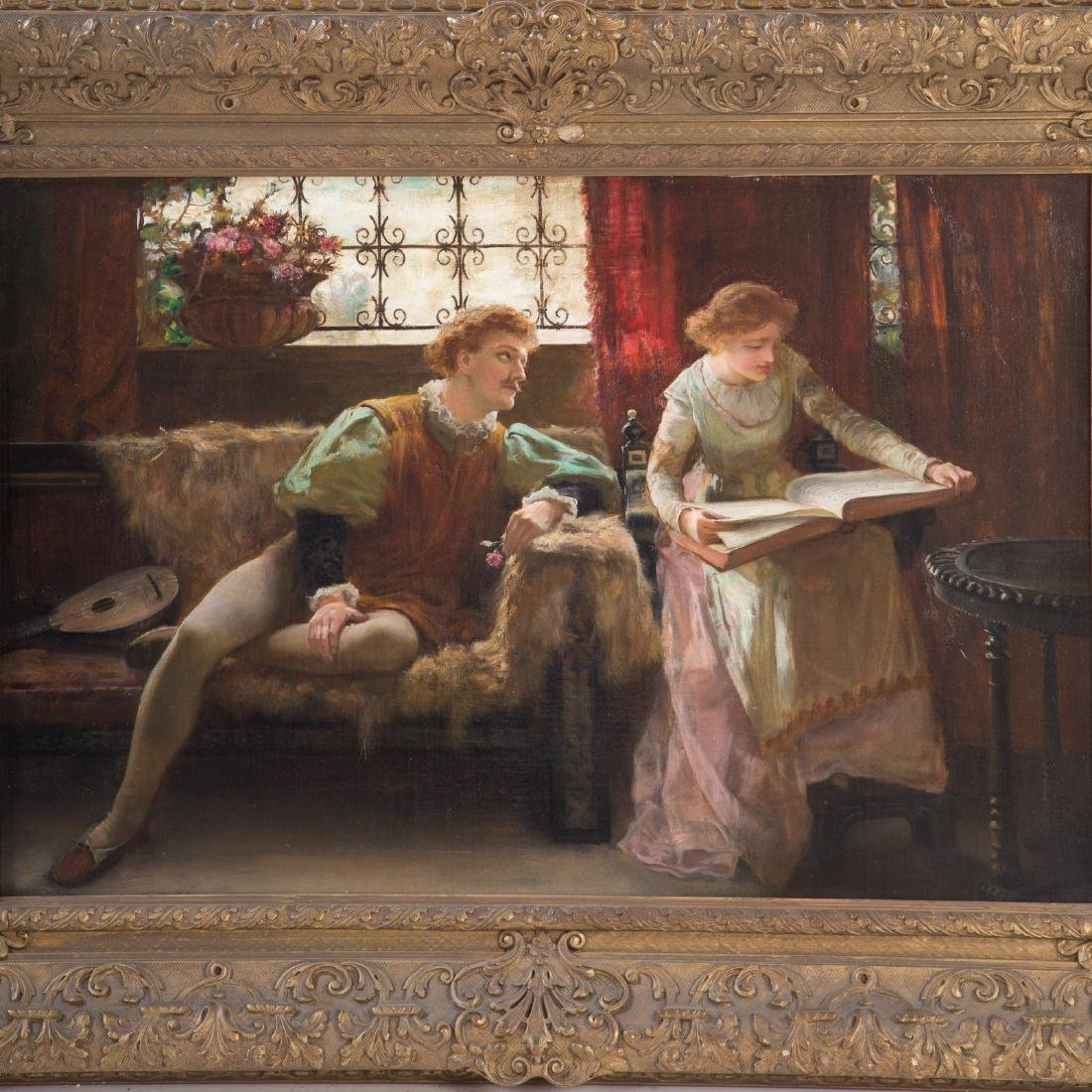 Francis Sydney Muschamp. Love's Young Dream, Oil - 2