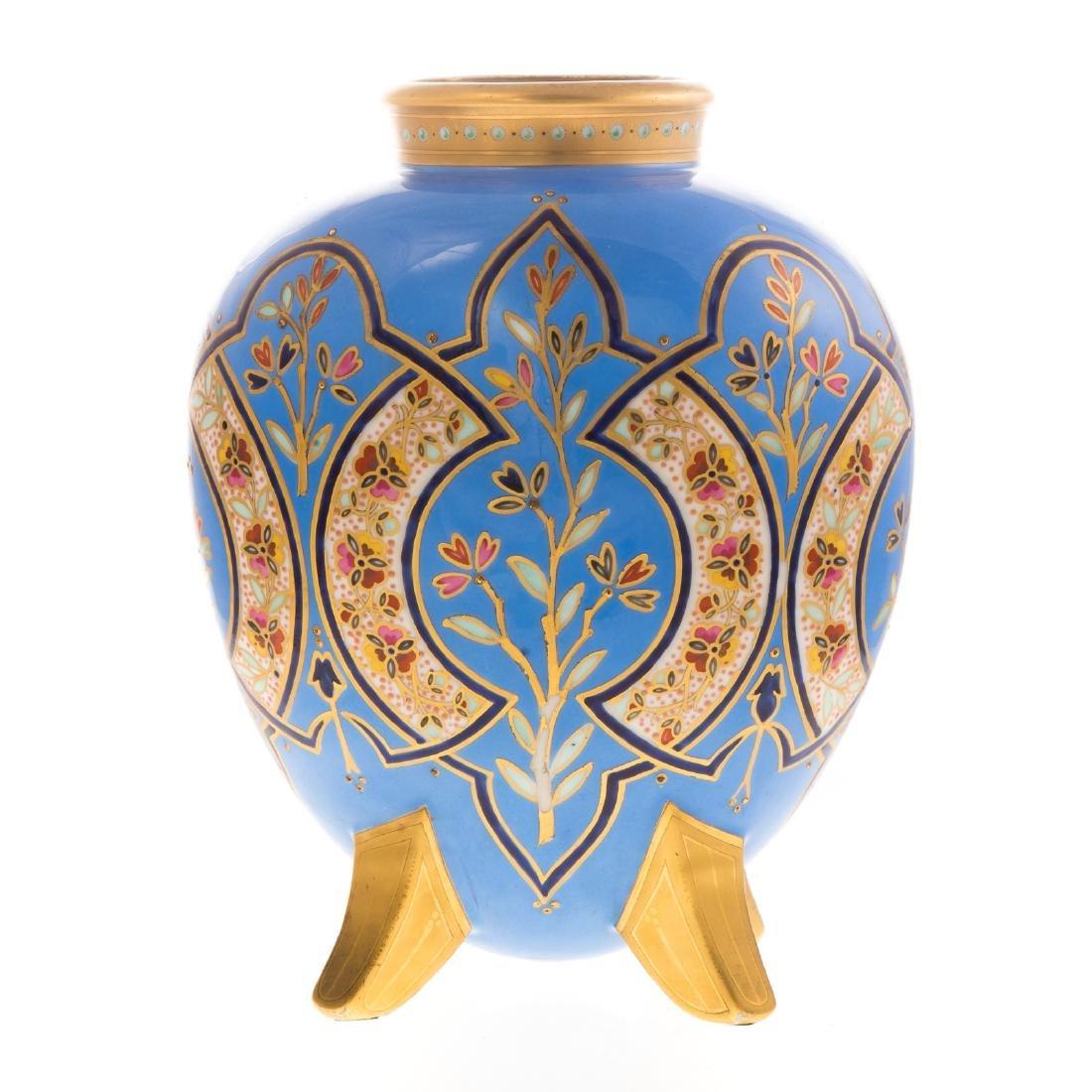 Limoges Porcelain Vase