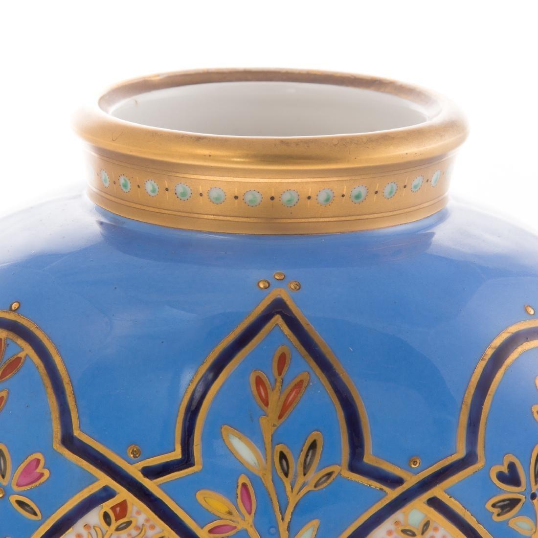 Limoges Porcelain Vase - 2
