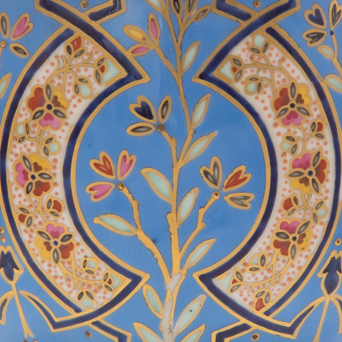 Limoges Porcelain Vase - 3