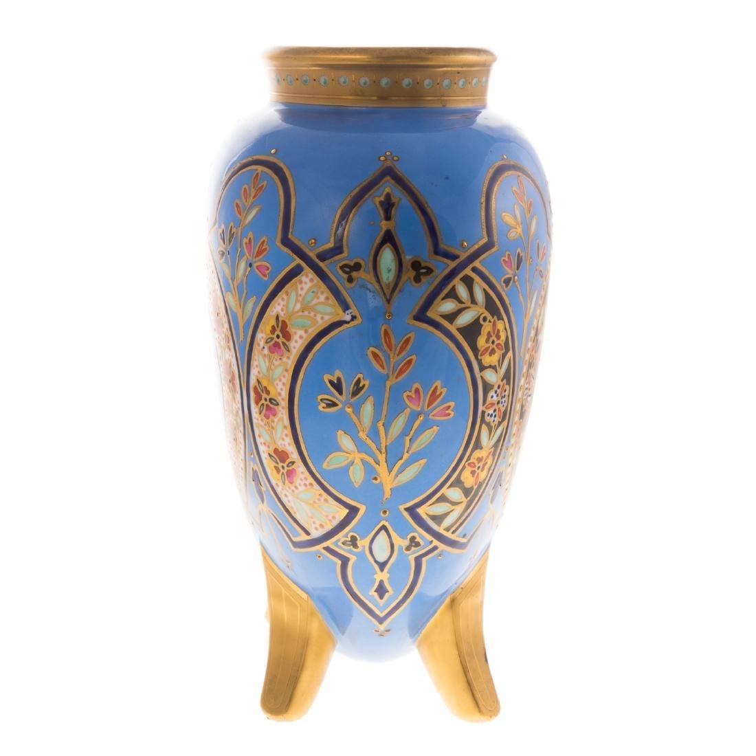 Limoges Porcelain Vase - 4