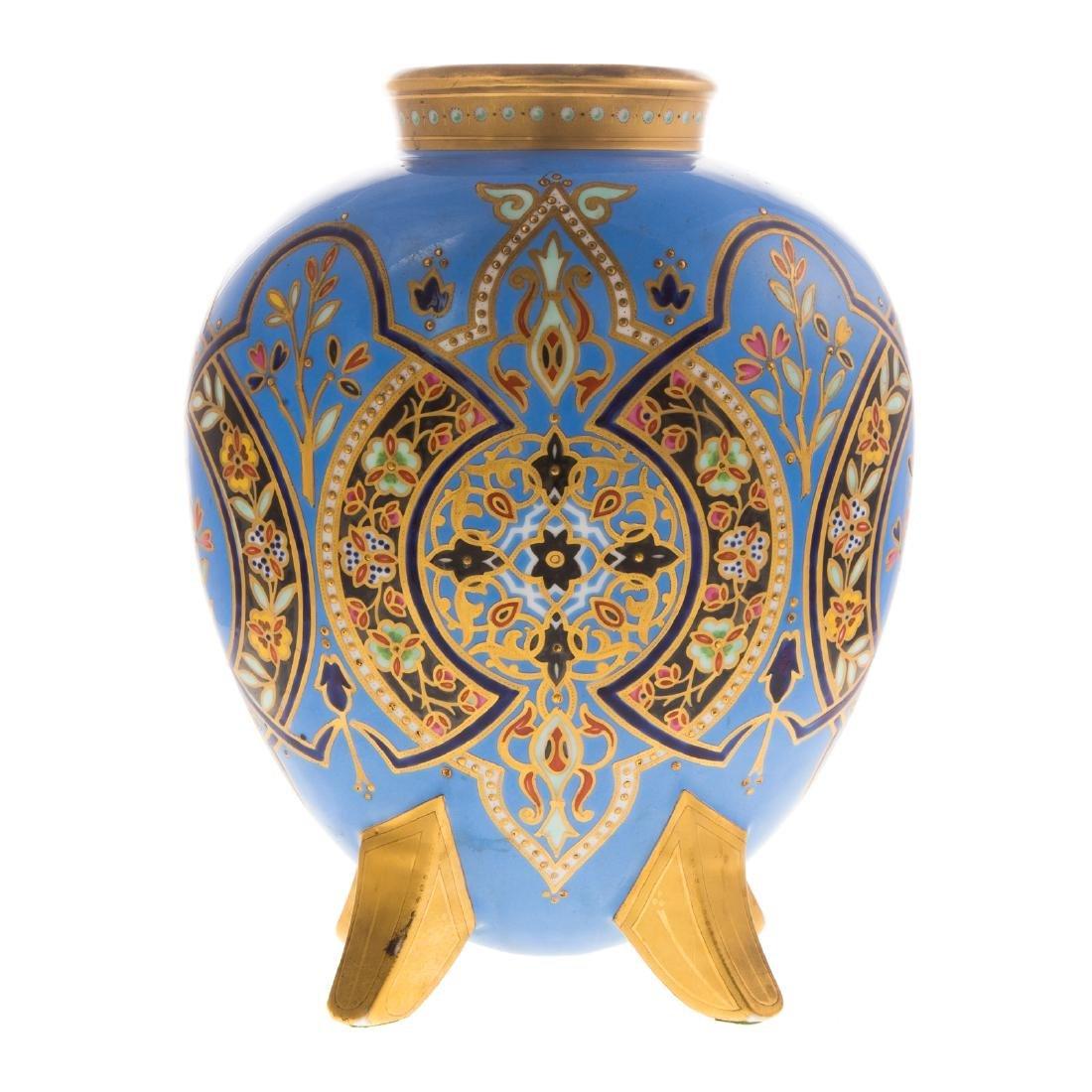 Limoges Porcelain Vase - 5