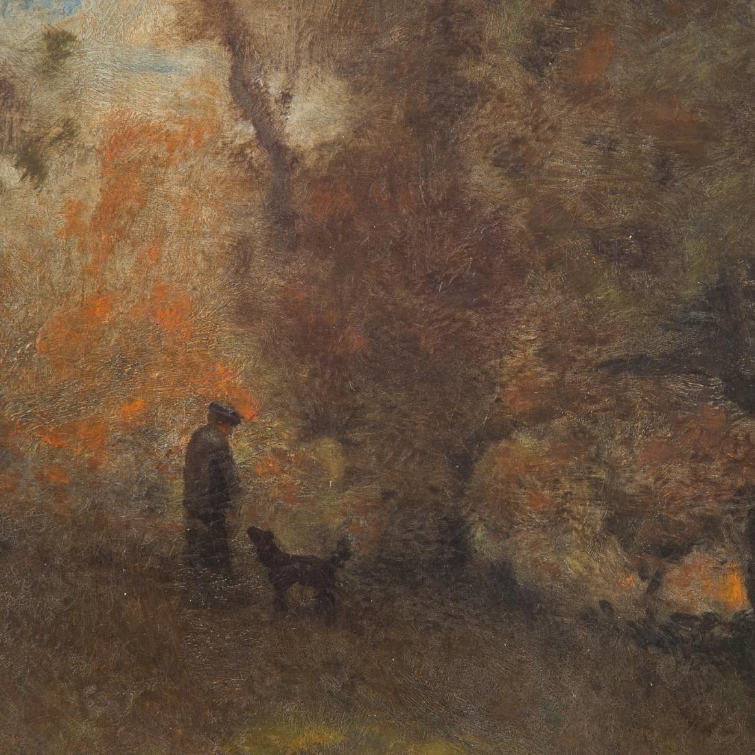 Franklin De Haven. Landscape, Oil on Canvas - 2