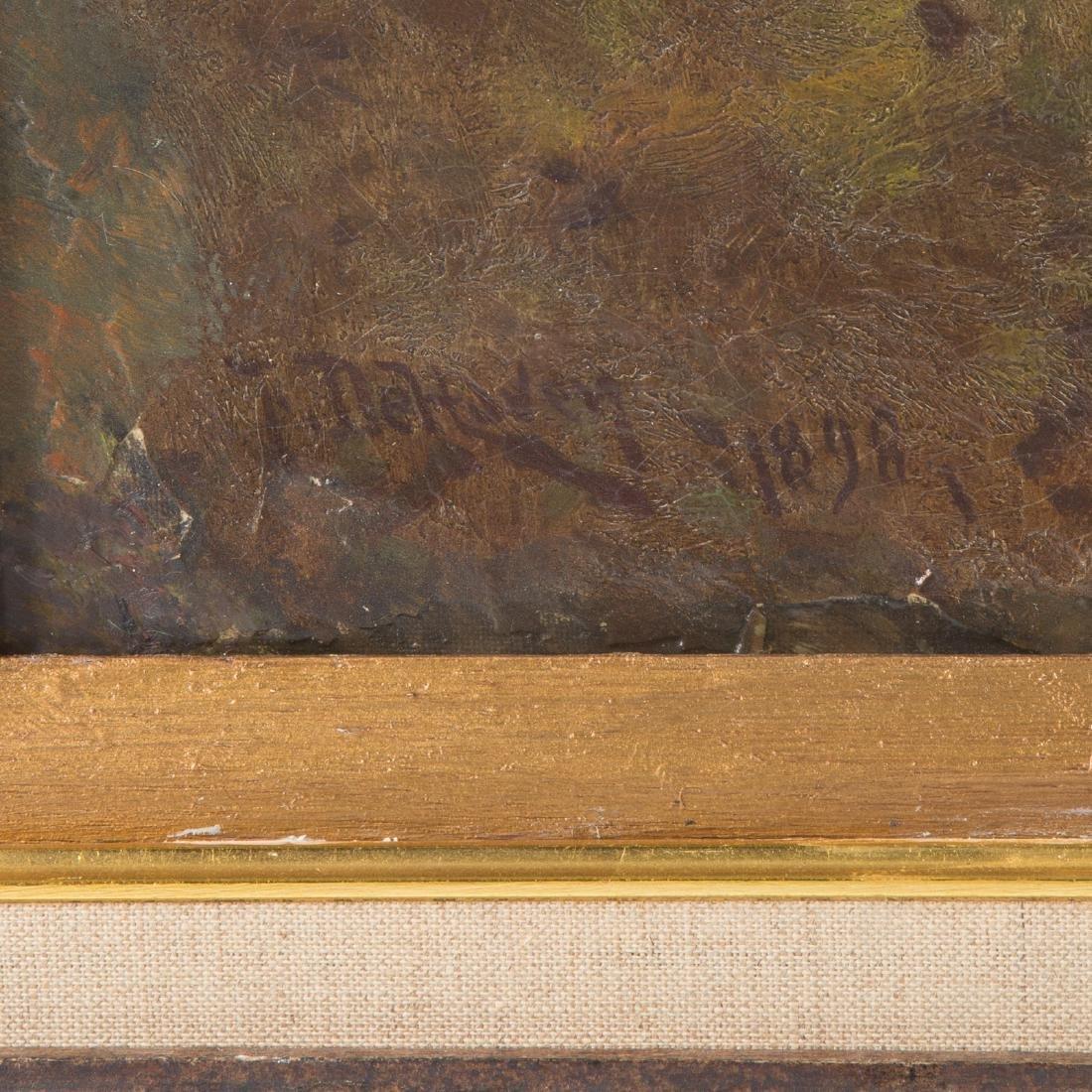 Franklin De Haven. Landscape, Oil on Canvas - 3