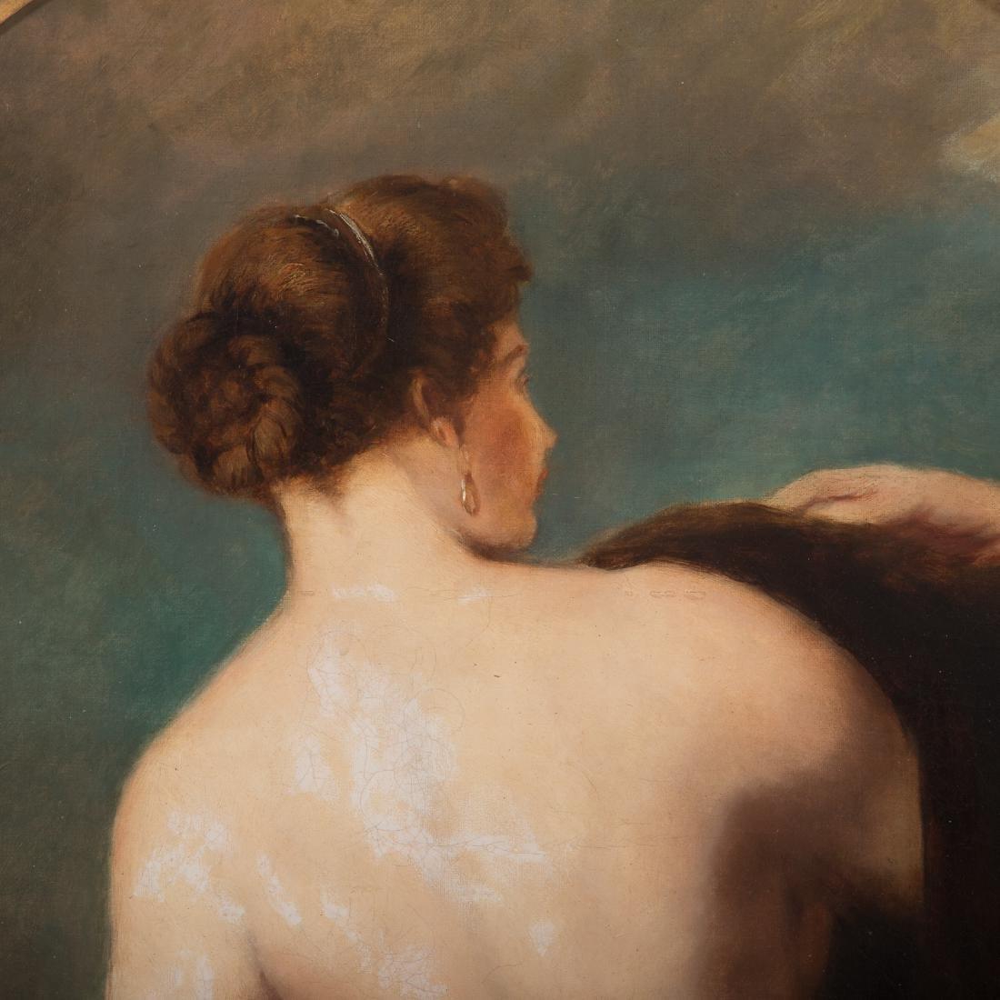 William Etty. Female Nude, Oil on Canvas - 2