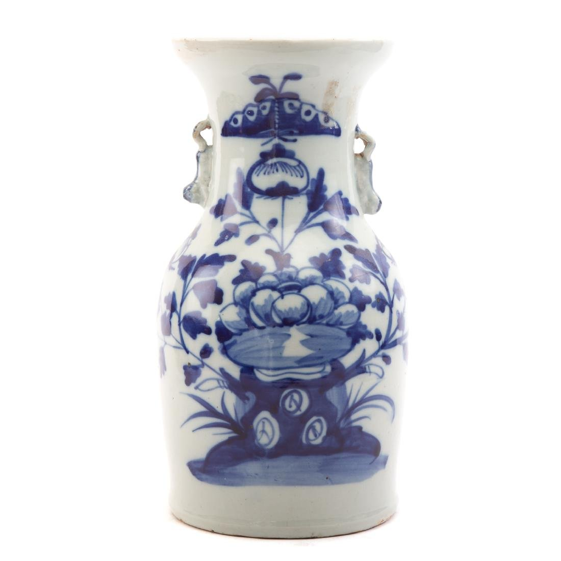 Two Pieces Blue and White Chinese Export Porcelain - 6