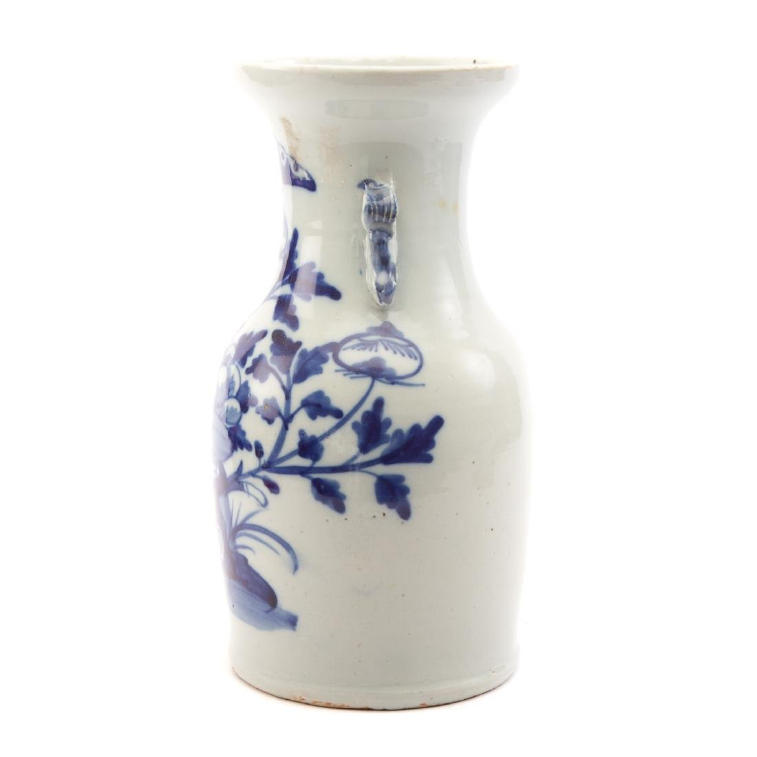 Two Pieces Blue and White Chinese Export Porcelain - 9