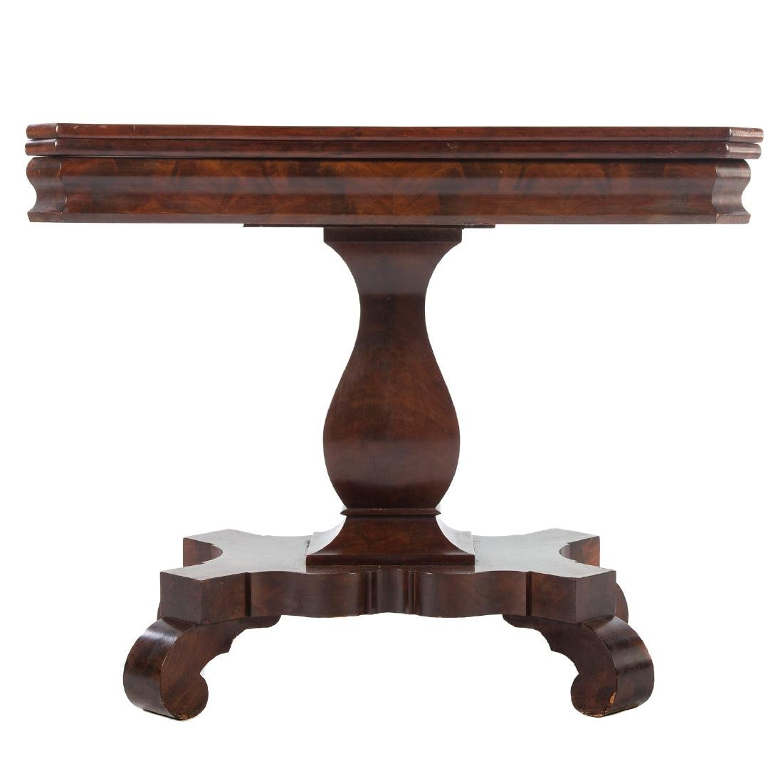 American Restoration Mahogany Games Table