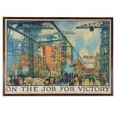 "Jonas Lie. ""On the Job for Victory"""