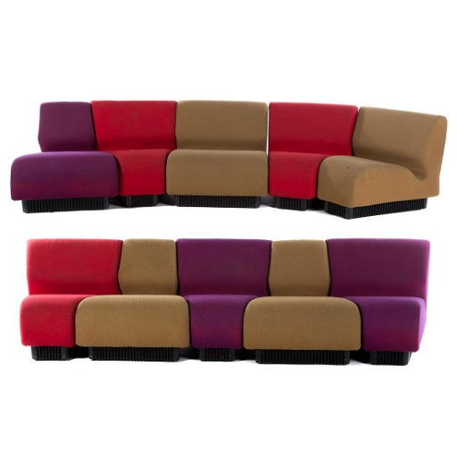 Don Chadwick For Herman Miller Modular Sofa
