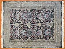 Indo Persian Rug, India, 8.1 x 10.1