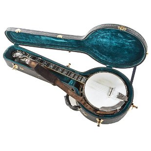 105: Vintage Silvertone 4 String Banjo - Jun 10, 2012 | S B