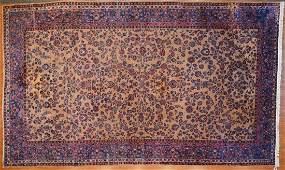Semi-Antique Sarouk Carpet, Persia, 11.2 x 18.7