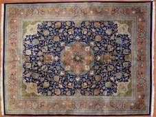Indo Persian Design Rug, India, 8 x 10.4