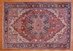 Antique Heriz Rug, Persia, 7.11 x 11.6