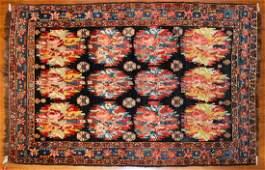 Antique Bahktiari Rug, Persia, 4.7 x 6.8