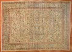 Antique Lavar Kerman Carpet, Persia, 11.10 x 14.10