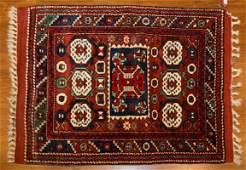 Turkish Balikesir Kazak Rug, 3.3 x 3.10