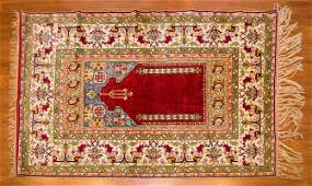 Turkish Kayseri Prayer Rug 44 x 64