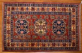 Turkish Kazak Rug, 3 x 4.4