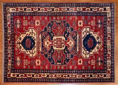 Turkish Kazak Rug, 4.3 x 5.7