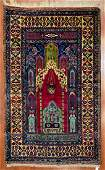 Turkish Taspinar Prayer Rug 53 x 85