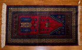 Turkish Konya Prayer Rug, 3 x 5