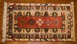 Turkish Konya Rug, 3.11 x 6.5