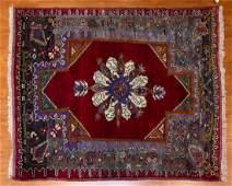 Turkish Konya Rug, 4.8 x 5.7