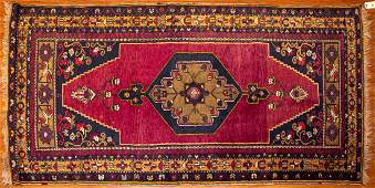 Turkish Yahyali Rug, 3.9 x 7.6