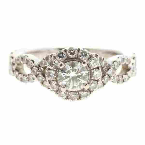 A Neil Lane Diamond Engagement Ring in 14K
