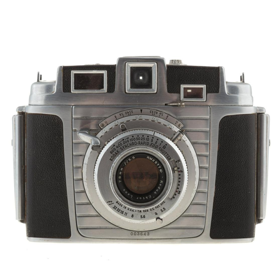 Kodak Chevron #620 Camera & Ektar 78 mm Lens